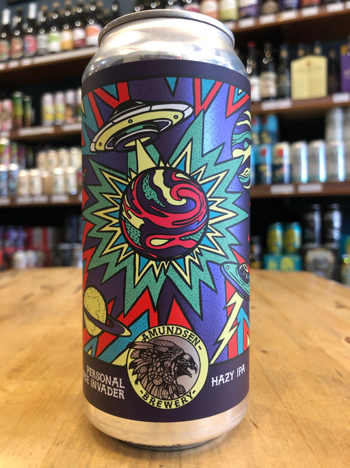 Amundsen Personal Space Invader Hazy IPA 440ml Can