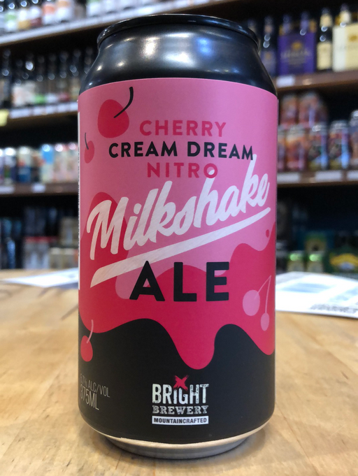 Bright Cherry Cream Dream Nitro Milkshake Ale 375ml Can
