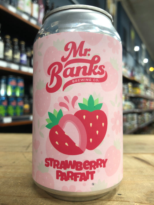 Mr Banks Strawberry Parfait 355ml Can