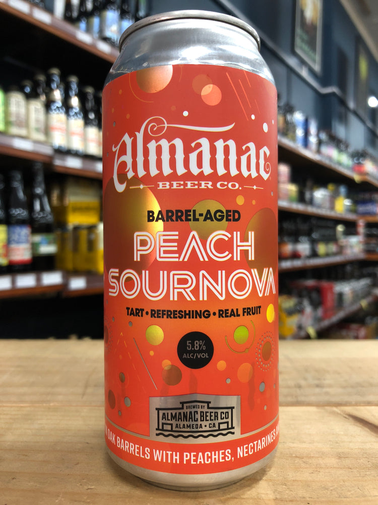 Almanac Peach Sournova 473ml Can