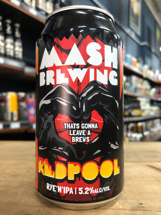 Mash Redpool Red Rye IPA 375ml Can