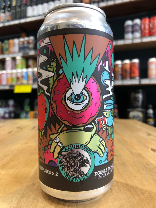 Amundsen Glazed & Confused 2.0 Imperial Pastry Stout 440ml Can