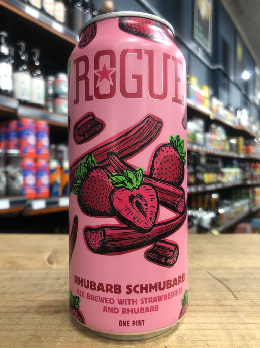 Rogue Rhubarb Schmubarb 473ml Can