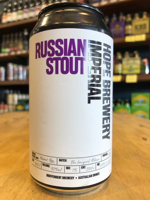 Hope Imperial Russian Stout 375ml Can