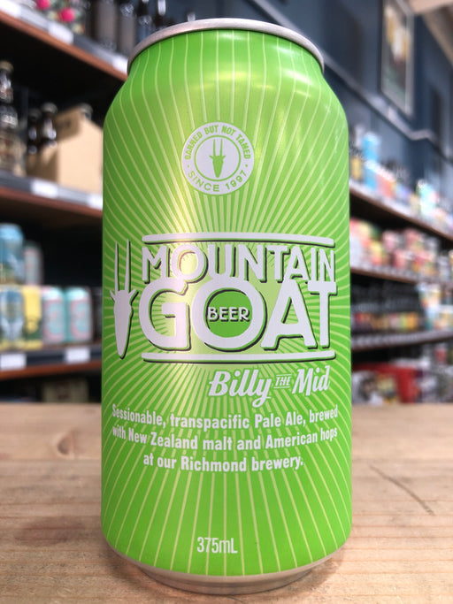 Mountain Goat Billy The Mid 375ml Can