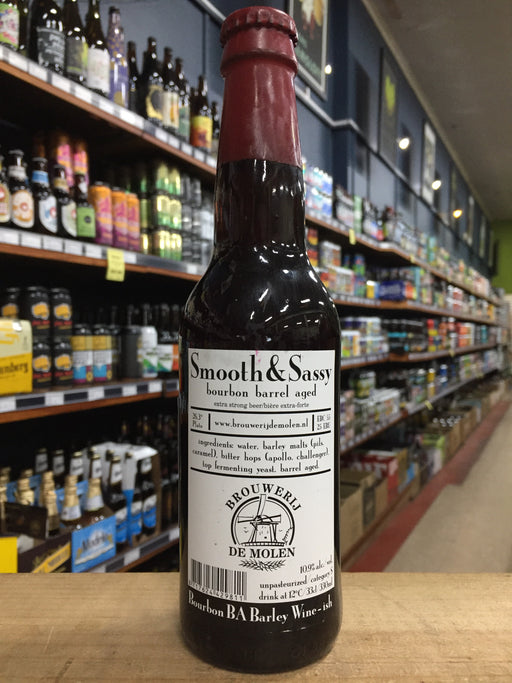 De Molen Smooth & Sassy Bourbon Barrel Aged 330ml