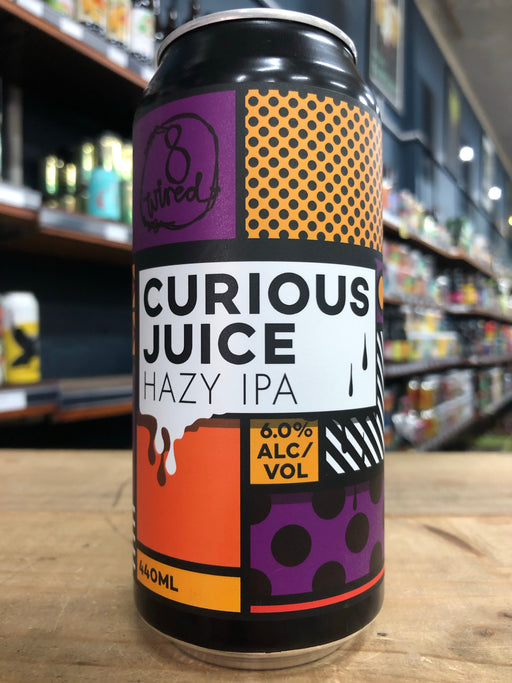8 Wired Curious Juice Hazy IPA 440ml Can