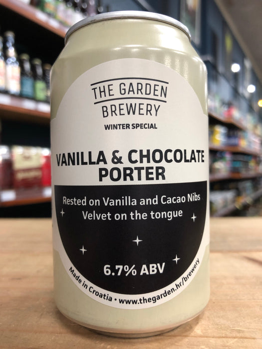 The Garden Vanilla & Chocolate Porter 330ml Can