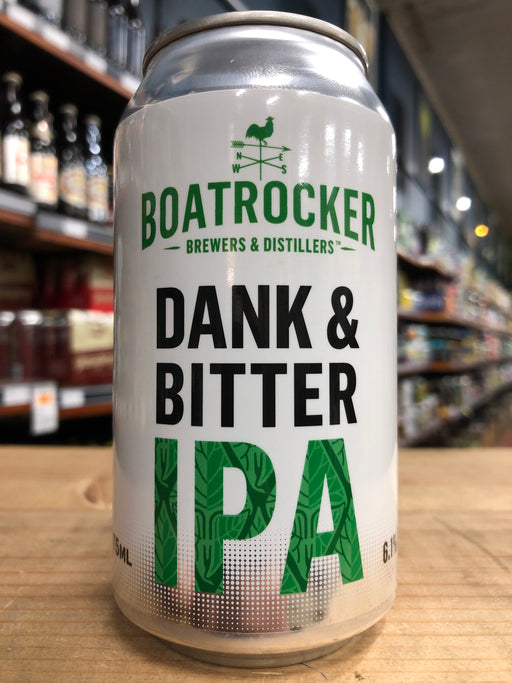 Boatrocker Dank & Bitter IPA 375ml Can