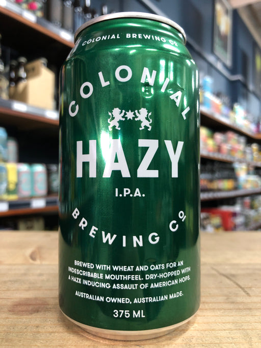 Colonial Hazy IPA 375ml Can