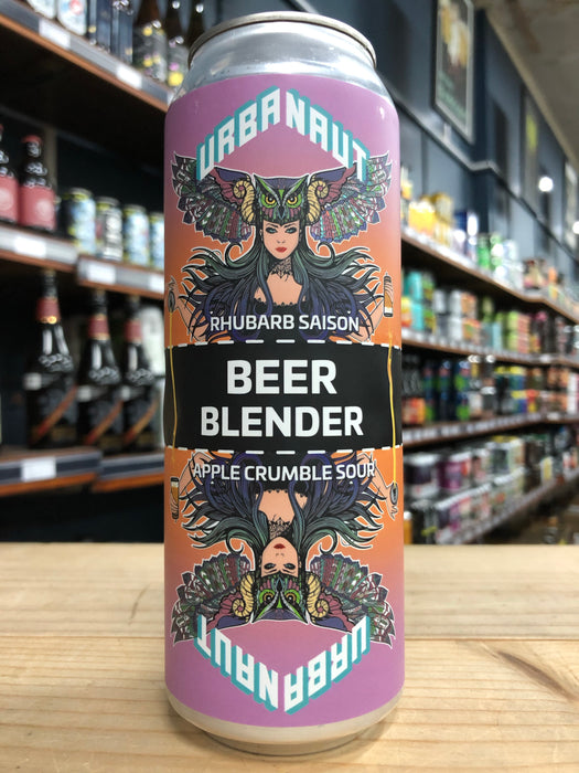 Urbanaut Beer Blender Rhubarb Saison x Apple Crumble Sour - 2 x 250ml Can