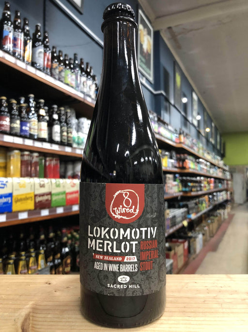 8 Wired Lokomotiv Merlot Russian Imperial Stout 500ml - Purvis Beer