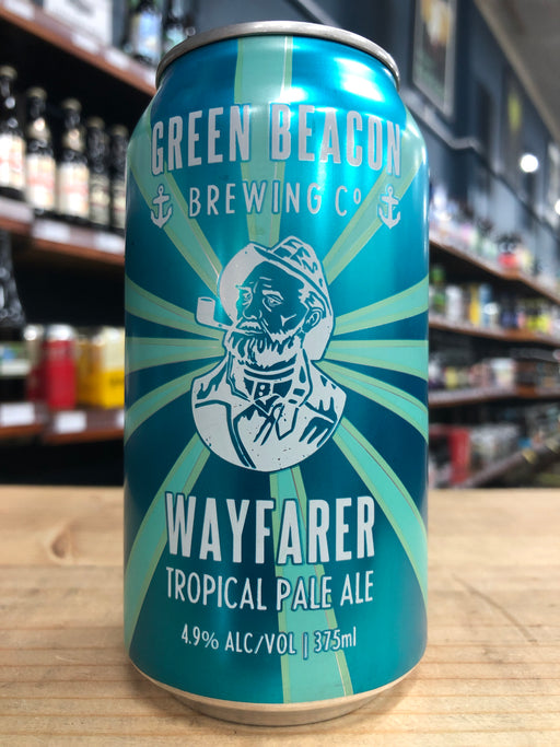Green Beacon Wayfarer Tropical Pale Ale 375ml Can