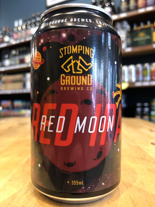 Stomping Ground Red Moon Red IPA 355ml Can