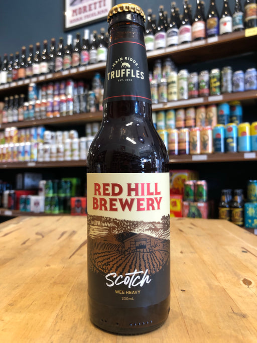 Red Hill Truffled Scotch Ale 330ml