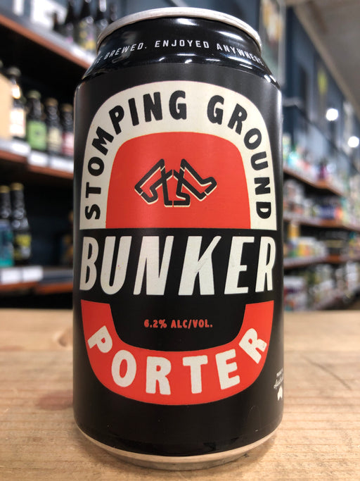 Stomping Ground Bunker Porter 355ml Can