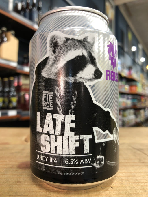 Fierce Late Shift Juicy IPA 330ml Can