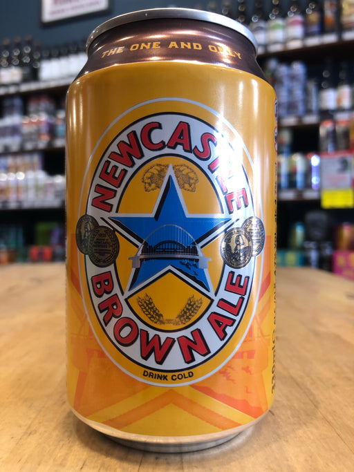 Newcastle Brown Ale 330ml Can