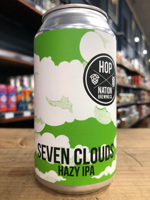 Hop Nation Seven Clouds Hazy IPA 375ml Can