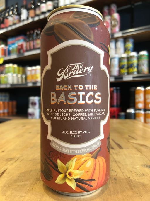 The Bruery Back To The Basics Imperial Stout 473ml Can