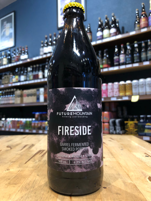 Future Mountain Fireside Smoked Porter 500ml