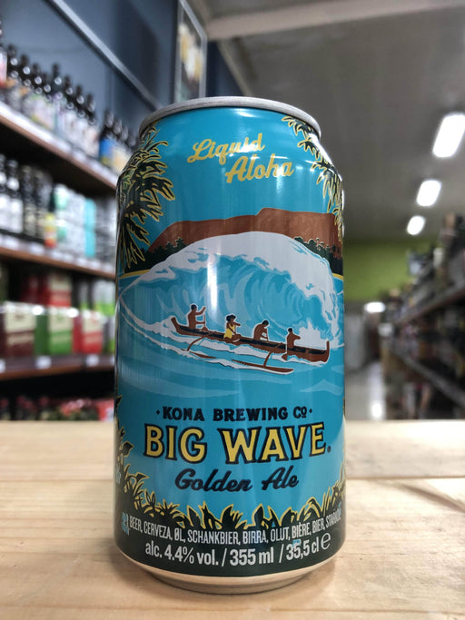 Kona Big Wave Golden Ale 355ml Can
