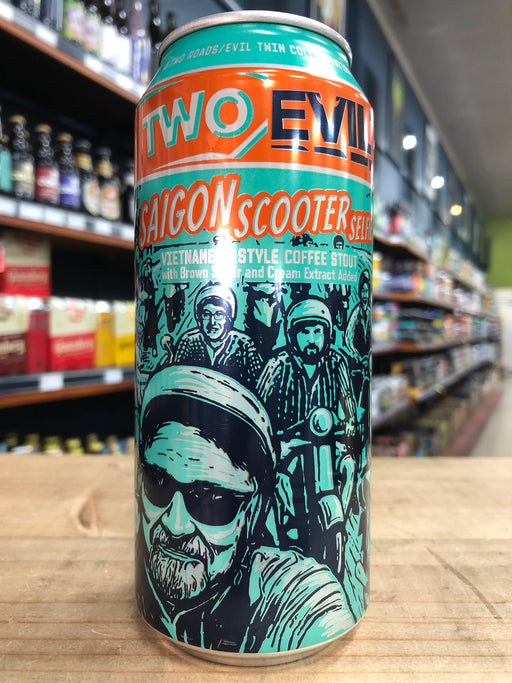 Two Roads / Evil Twin Saigon Scooter Selfie 473ml Can