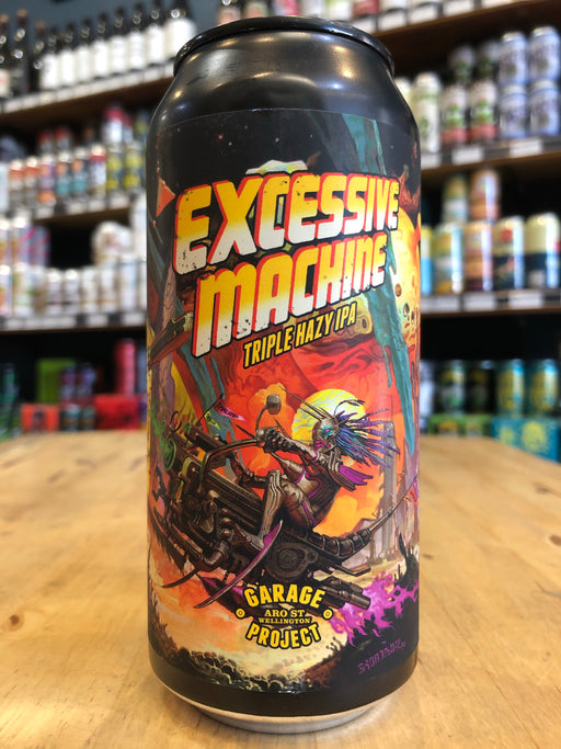 Garage Project Excessive Machine Triple Hazy IPA 440ml Can