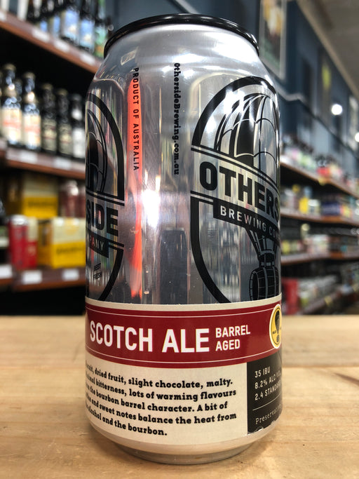 Otherside Scotch Ale Barrel Aged 375ml Can