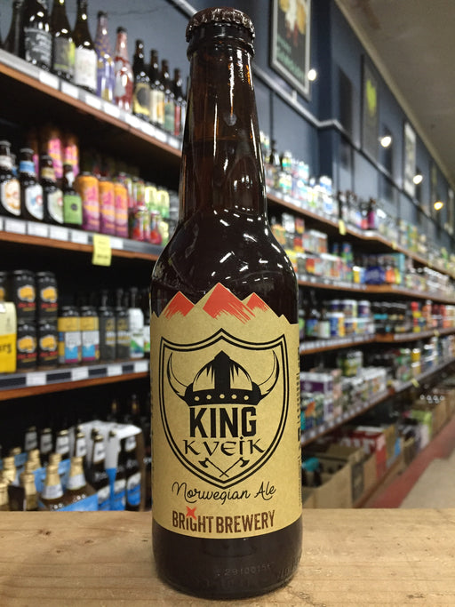 Bright Brewing King Kveik Norwegian Ale 330ml