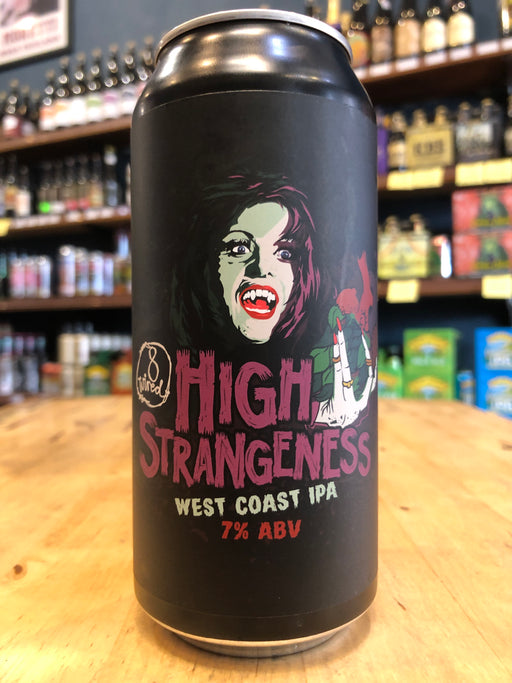 8 Wired High Strangeness West Coast IPA 440ml Can