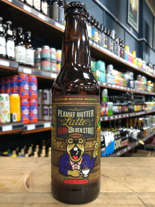 Belching Beaver Peanut Butter Latte Nitro Golden Stout 355ml