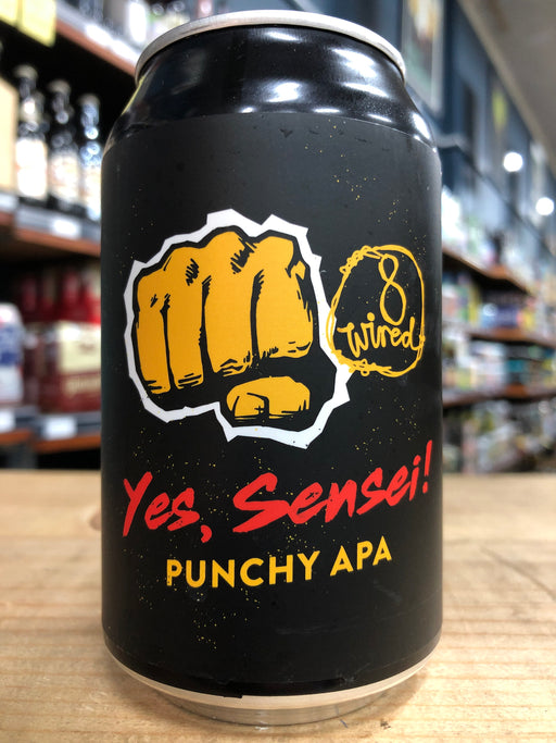 8 Wired Yes, Sensei Punchy APA 330ml Can