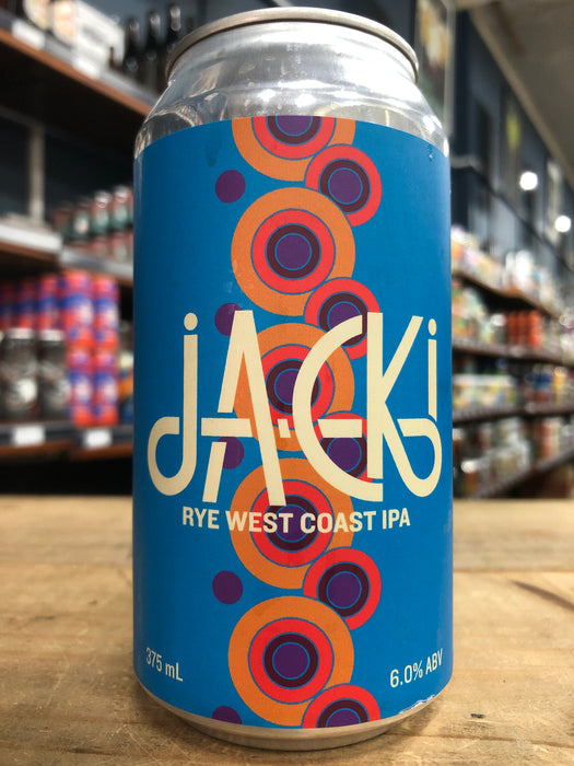 Hawkers Jacki Rye West Coast IPA 375ml Can