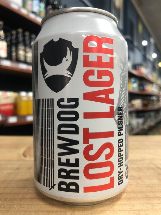 BrewDog Lost Lager 330ml Can