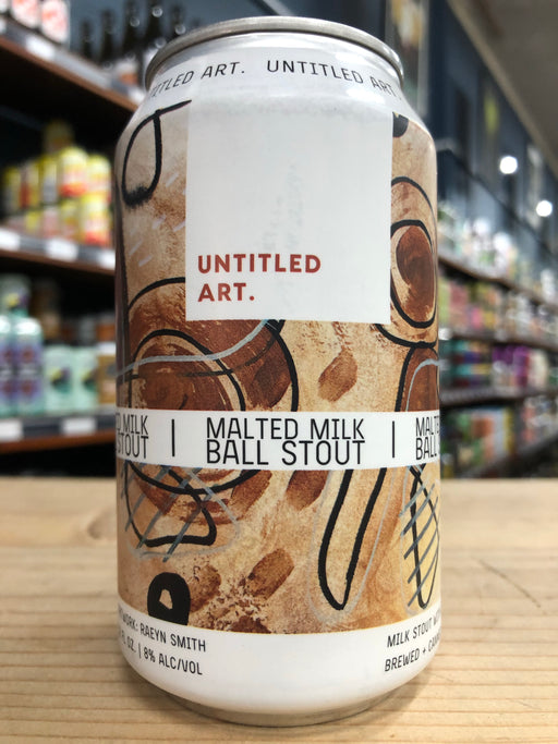 Untitled Art Malted Milk Ball Stout 355ml Can