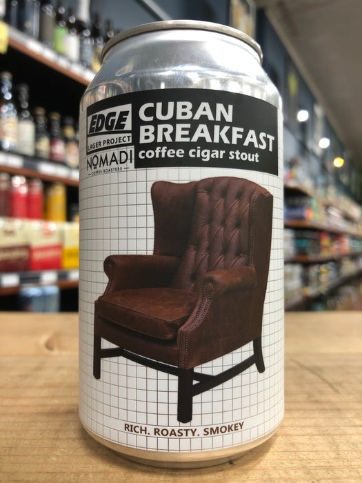Edge Cuban Breakfast - Coffee Cigar Stout 355ml Can