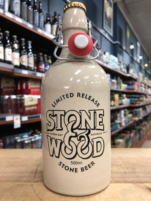 Stone & Wood Barrel-Aged Stone Beer Ceramic Crock 500ml  [Limit 1 Per Customer]