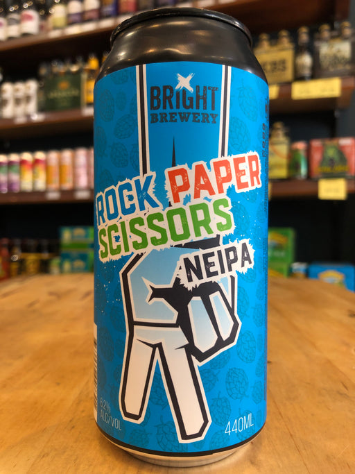 Bright Rock Paper Scissors NEIPA 440ml Can