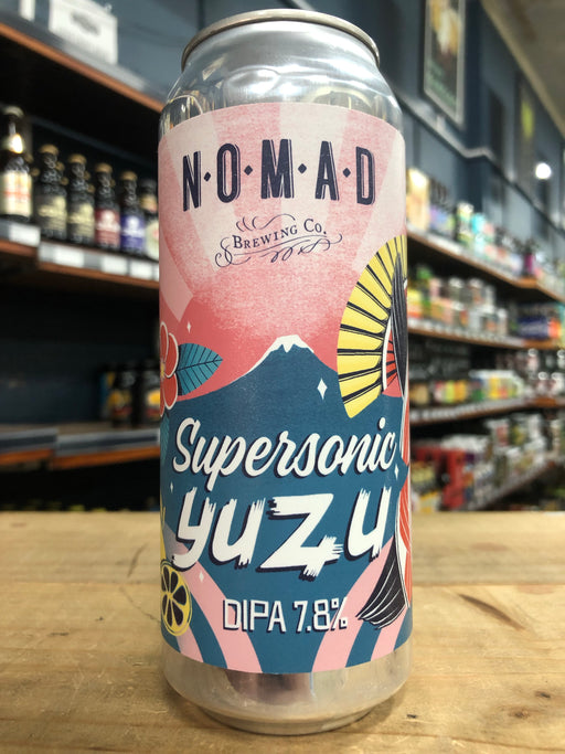 Nomad Supersonic Yuzu Double IPA 500ml Can
