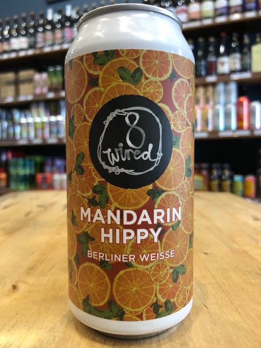 8 Wired Mandarin Hippy Berliner 440ml Can