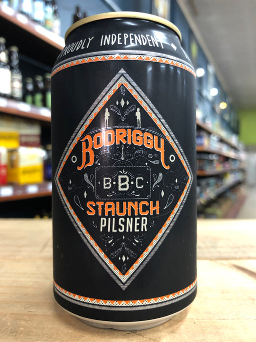 Bodriggy Staunch Pilsner 355ml Can