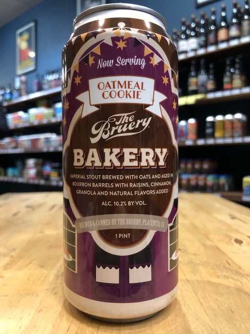 The Bruery Bakery Oatmeal Cookie 473ml Can