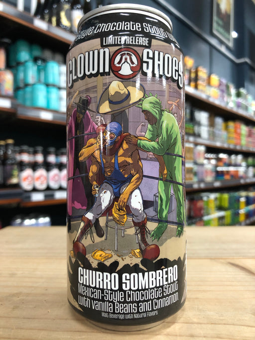 Clown Shoes Churro Sombrero 473ml Can