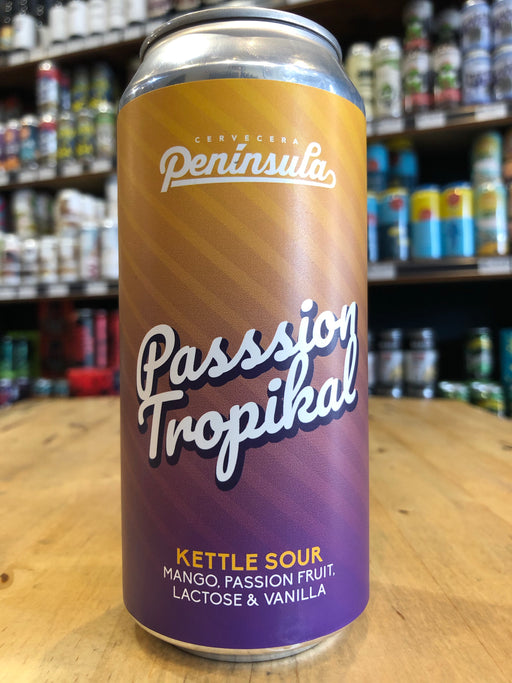 Cervecera Península Passion Tropikal 440ml Can