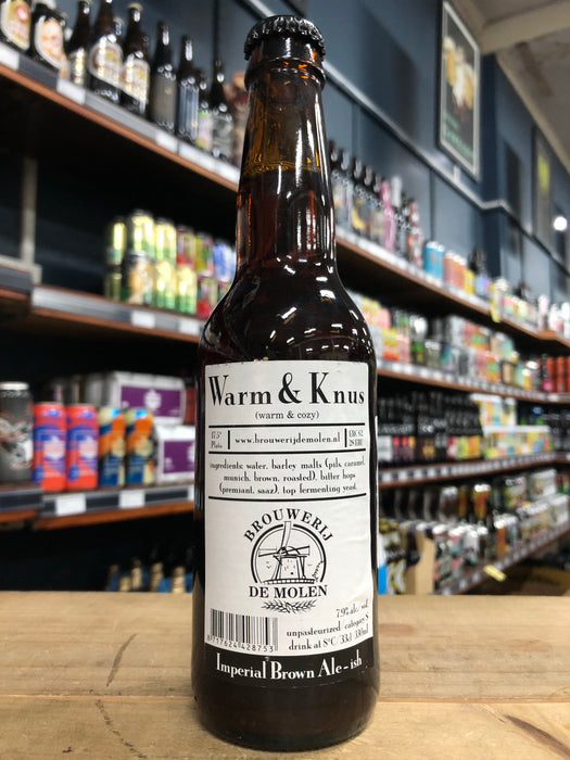 De Molen Warm & Knus 330ml