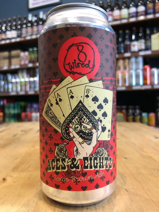 8 Wired Aces & Eights Texas Brown Ale 440ml Can