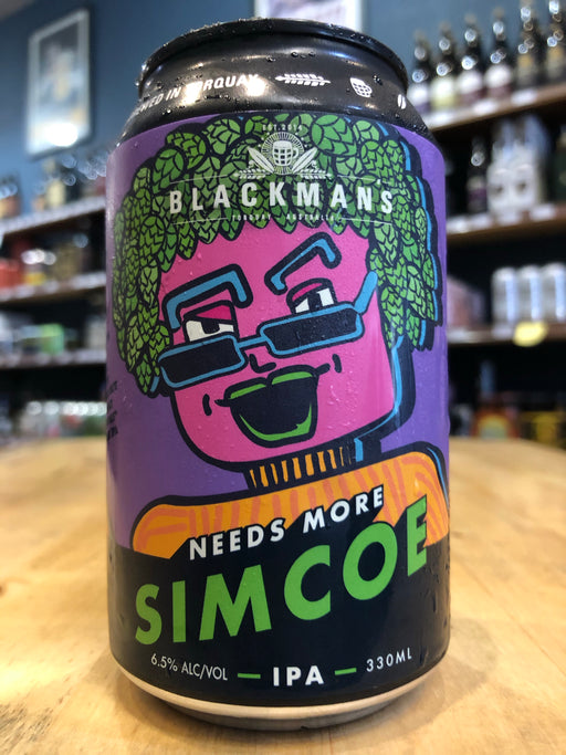Blackman's Needs More Simcoe IPA 330ml Can