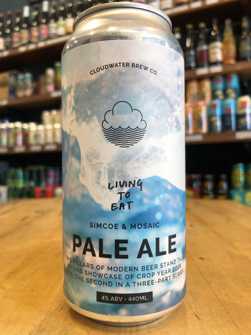 Cloudwater Living To Eat 440ml Can