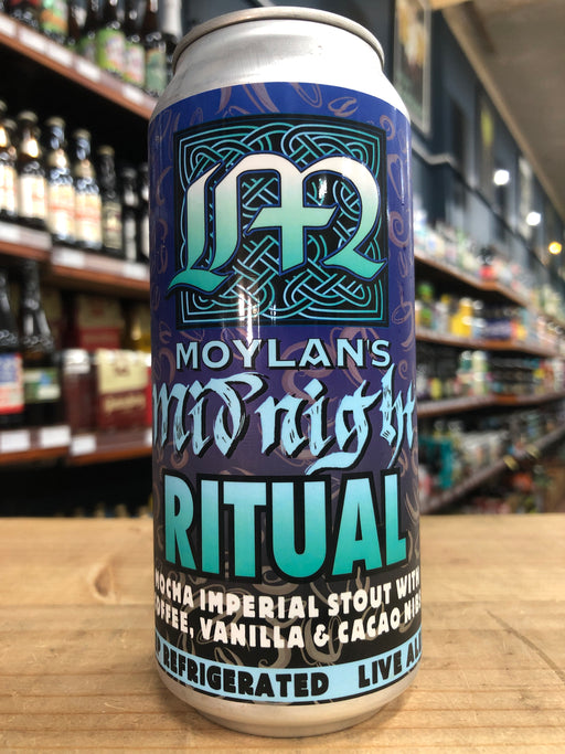 Moylans Midnight Ritual Imperial Stout 473ml Can